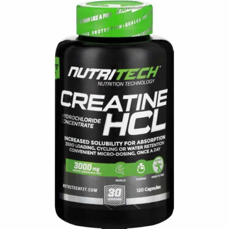 Nutritech - Creatine HCL - Capsules 100g