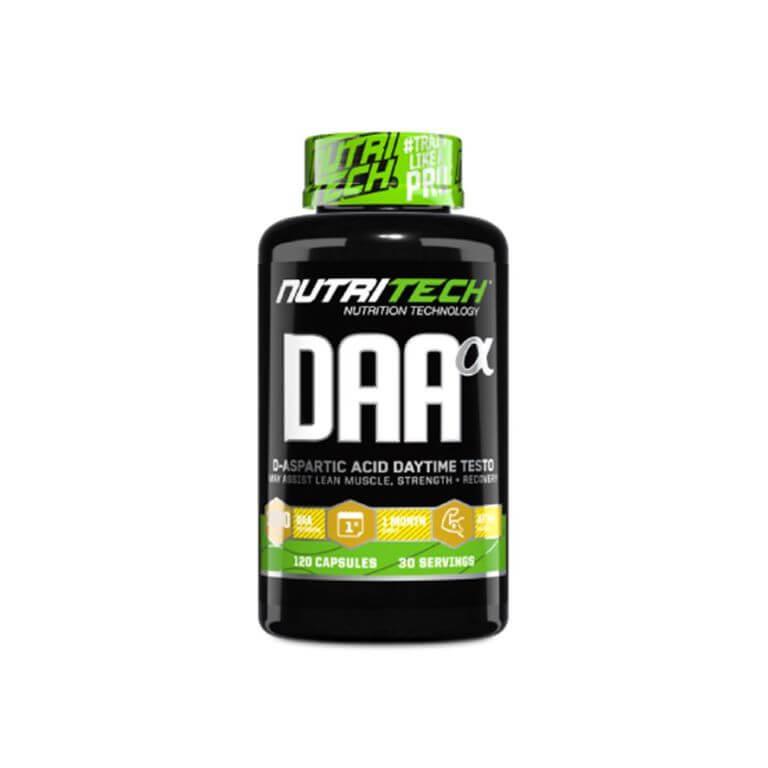 Nutritech - DAA Alpha - Capsules 100g