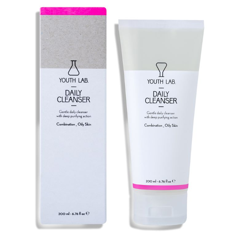 Youth Lab - Daily Cleanser: comb/oily 200ml