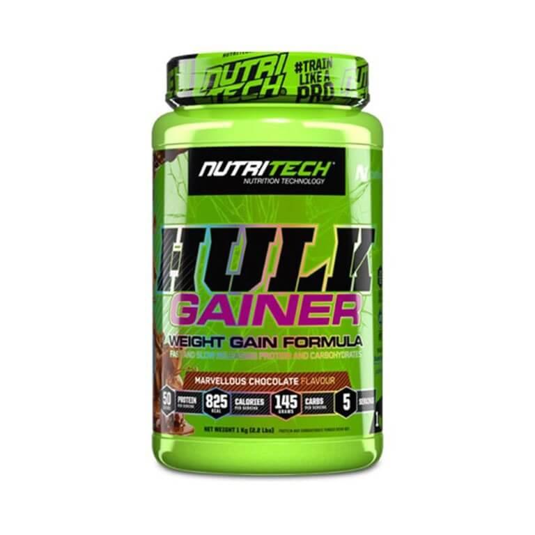 Nutritech - Hulk Gainer - Marvellous Chocolate 1Kg