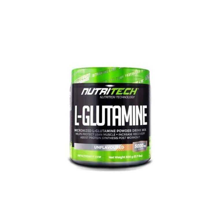 Nutritech - L-Glutamine - Unflavoured + Unsweetened 300g