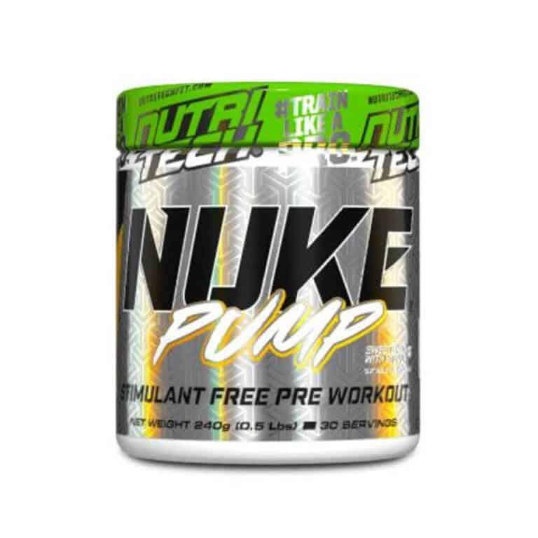 Nutritech - Nuke Pump - Mental Mango 240g