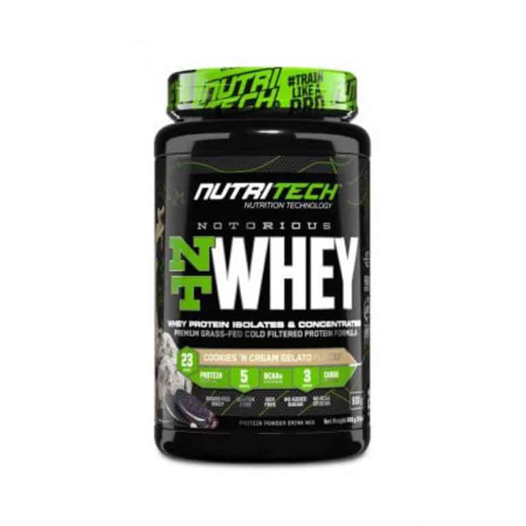 Nutritech - Heavy-Duty Nt Whey - Cookies N Cream Gelato 908g (2Lbs)