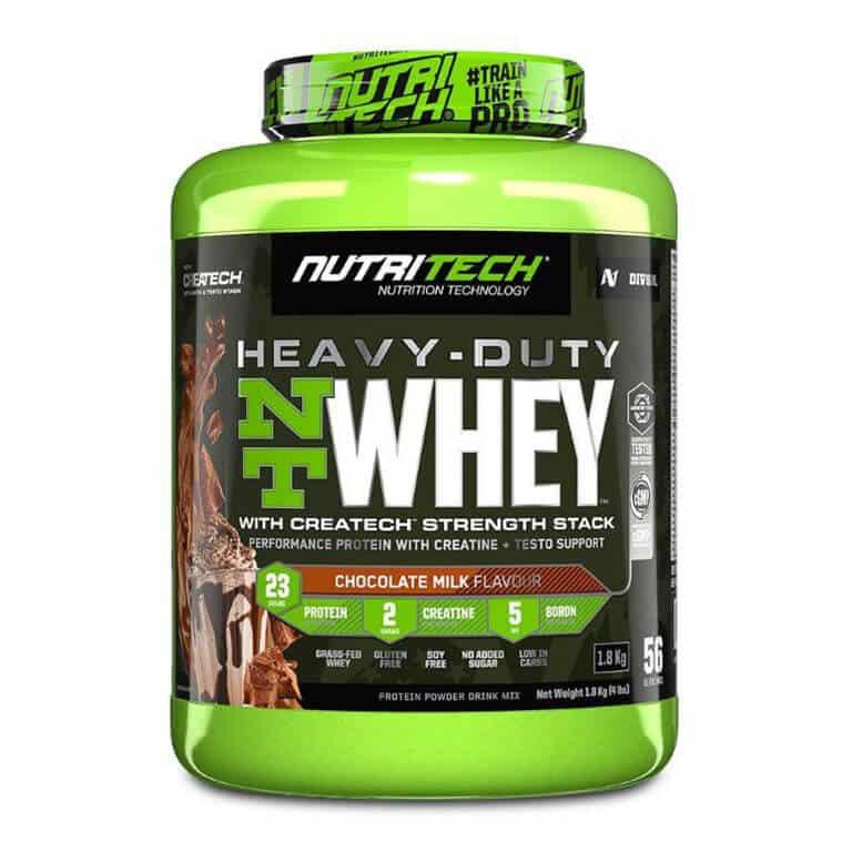 Nutritech - Heavy-Duty Nt Whey - Chocolate Milk 1,8Kg (4Lbs)