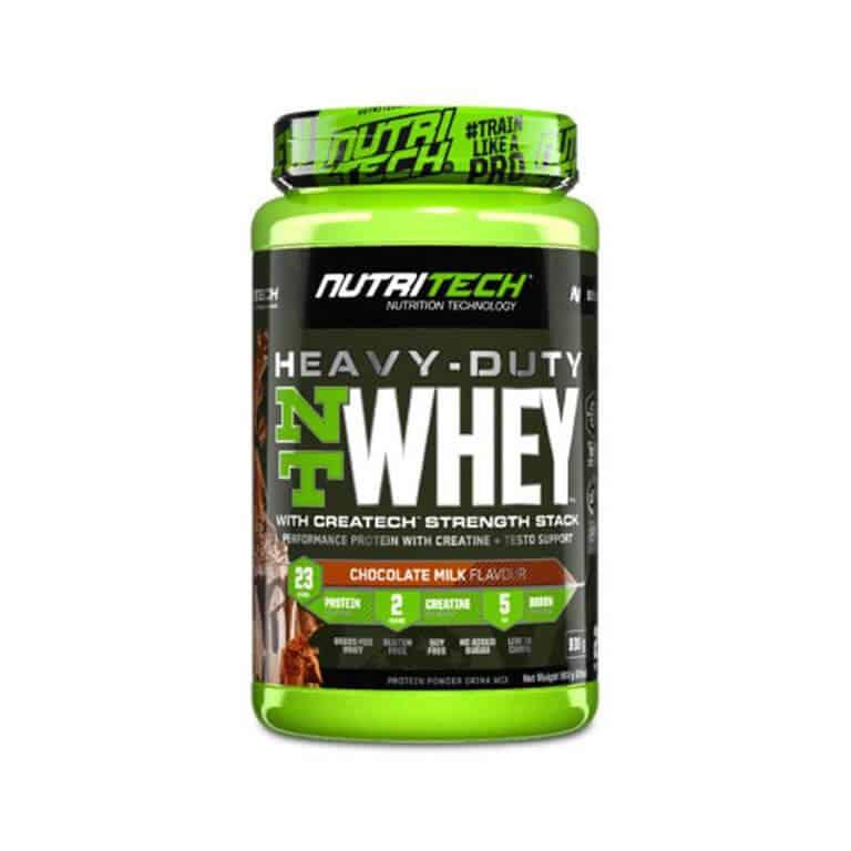 Nutritech - Heavy-Duty Nt Whey - Chocolate Milk 908g (2Lbs)