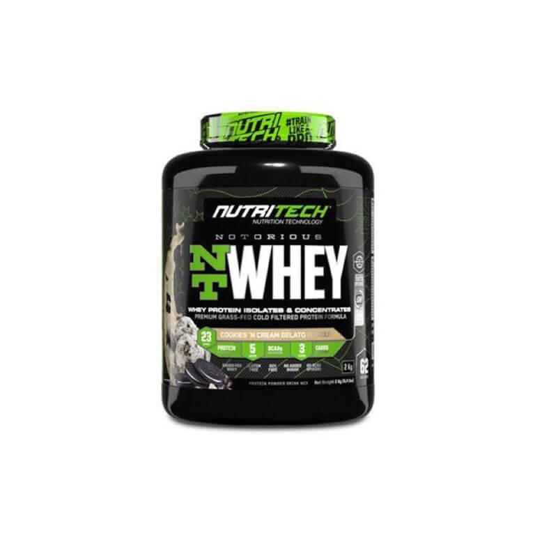 Nutritech - Heavy-Duty Nt Whey - Cookies N Cream Gelato 1,8Kg (4Lbs)