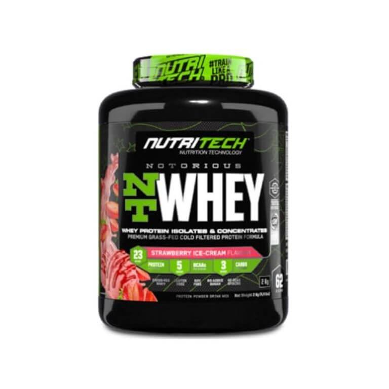 Nutritech - Notorious Nt Whey - Strawberry Ice Cream 4.4Lb/2Kg