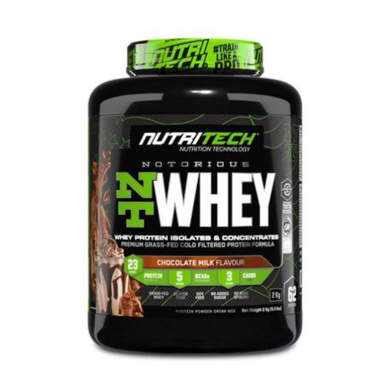 Nutritech - Notorious Nt Whey - Chocolate Milk 4.4Lb/2Kg