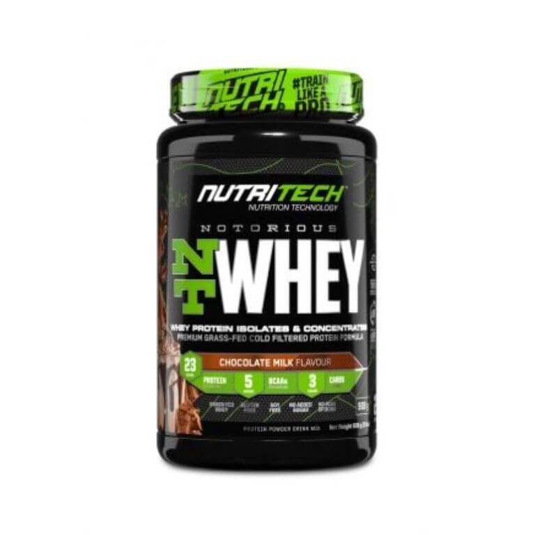Nutritech - Notorious Nt Whey - Chocolate Milk 2Lbs/908G