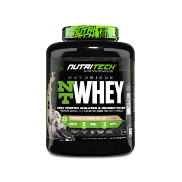 Nutritech - Notorious Nt Whey - Cookies & Cream Gelato 4.4Lb/2Kg