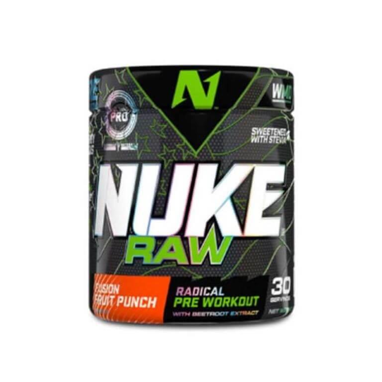 Nutritech - Nuke Raw - Fusion Punch 280g