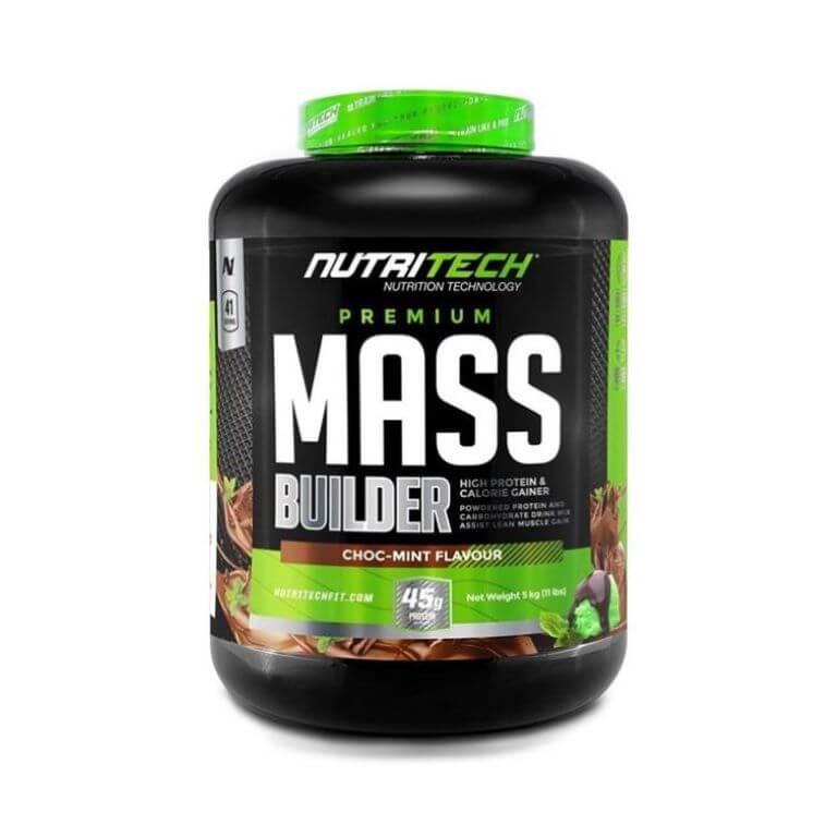 Nutritech - Premium Mass Builder - Chocmint 5Kg
