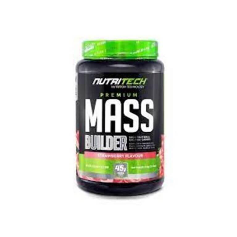 Nutritech - Premium Mass Builder - Strawberry 1,5Kg