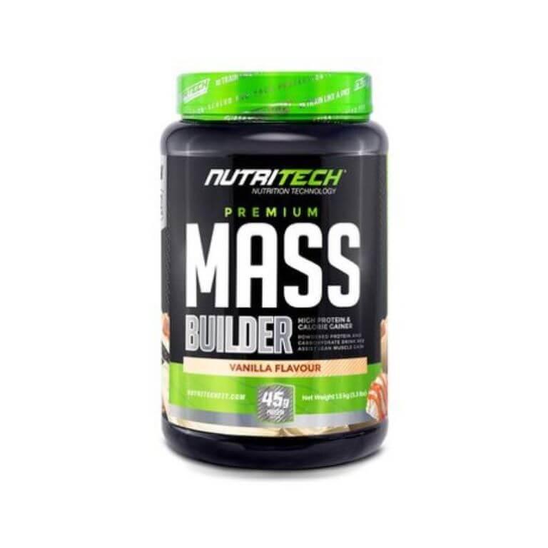 Nutritech - Premium Mass Builder - Vanilla 1,5Kg