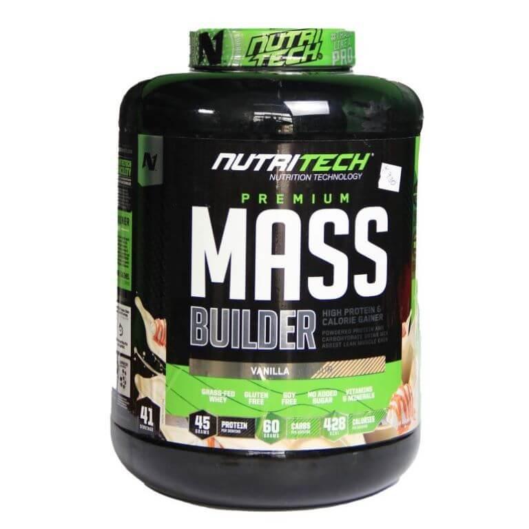 Nutritech - Premium Mass Builder - Vanilla 5Kg