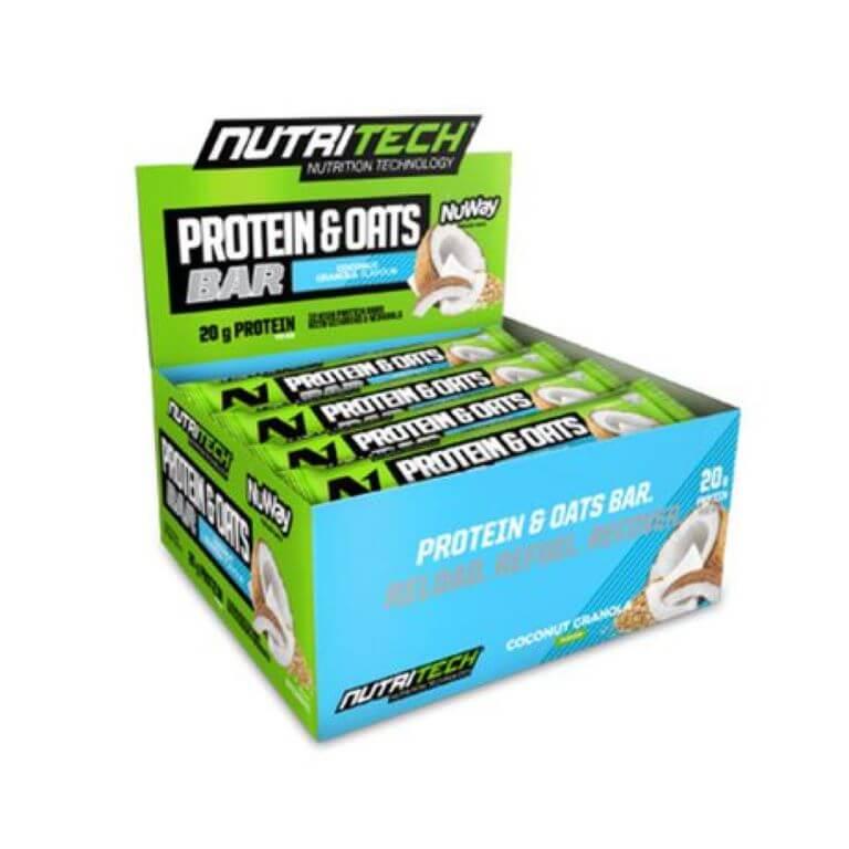 Nutritech - Whey Protein Bars - Coconut Granola 12 x 68g