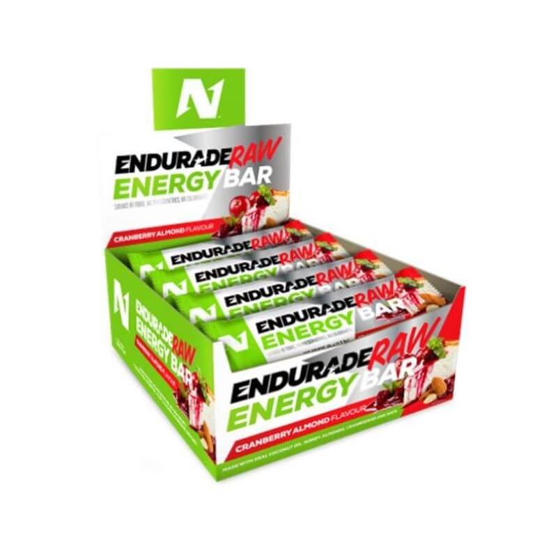 Nutritech - Raw Energy Bar - Cranberry Almond 12 x 45g