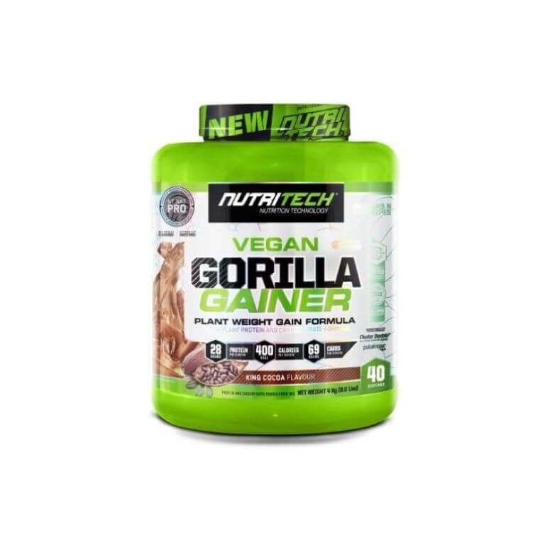 Nutritech - Vegan Gorilla Gainer - King Cocoa 4Kg