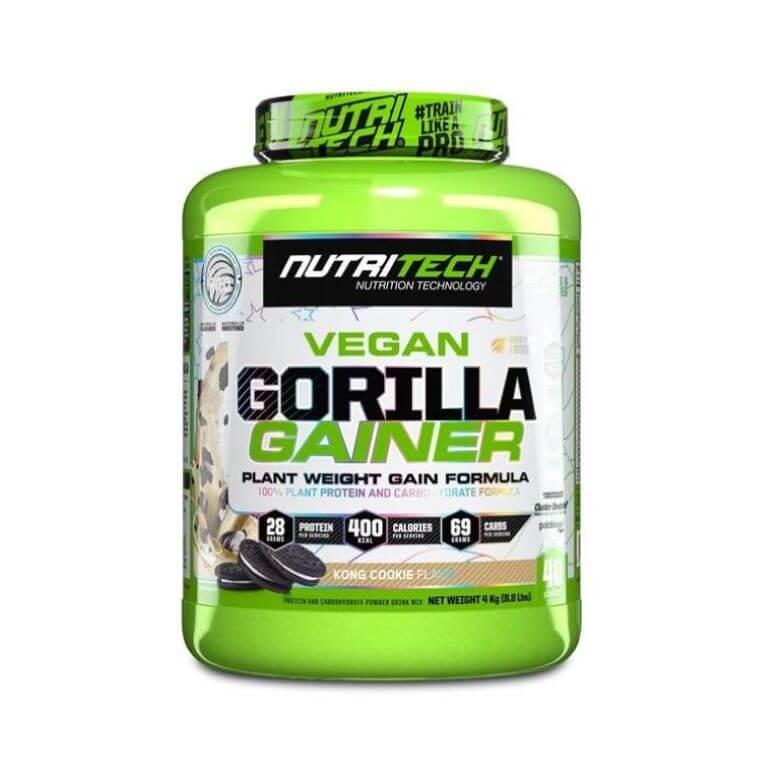 Nutritech - Vegan Gorilla Gainer - Kong Cookie 4Kg