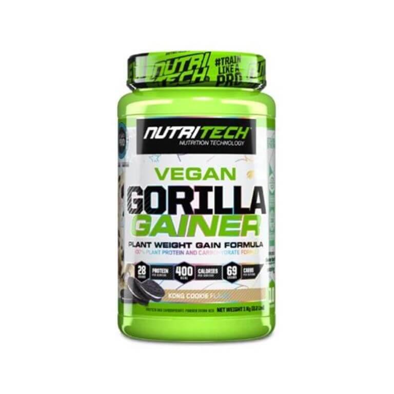 Nutritech - Vegan Gorilla Gainer - Kong Cookie 1Kg