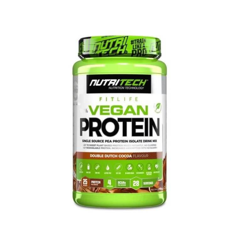 Nutritech - Vegan Protein 100% Pea Isolate - Double Dutch Cocoa 908g