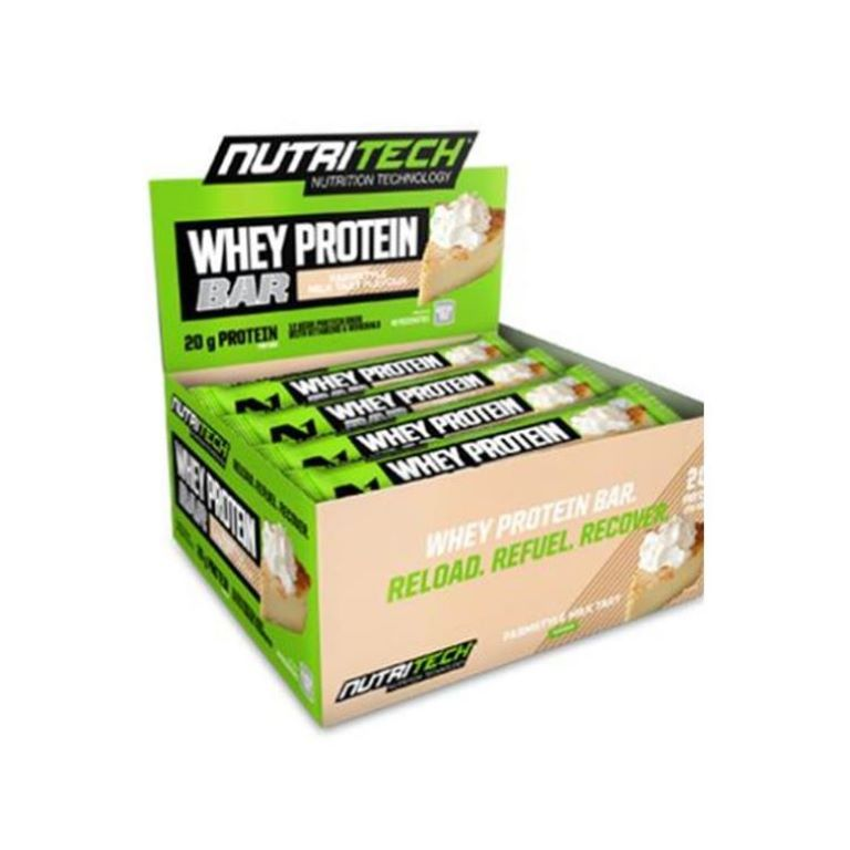 Nutritech - Whey Protein Bars - Farmstyle Milk Tart 12 x 68g