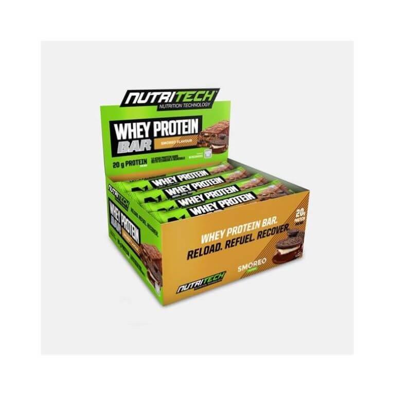Nutritech - Whey Protein Bars - Smoreo 12 x 68g