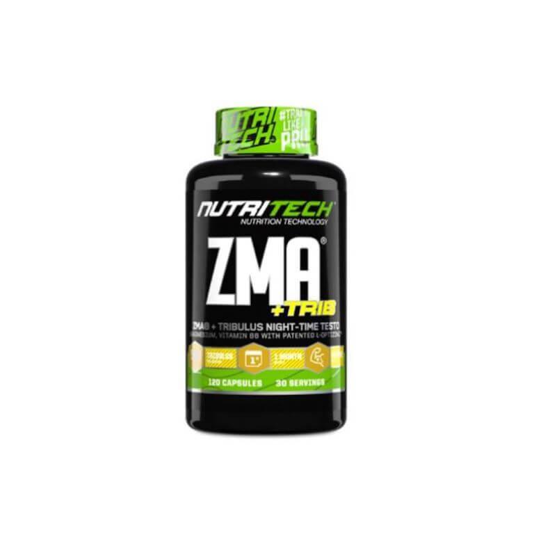 Nutritech - Zma + Trib - Capsules 100g