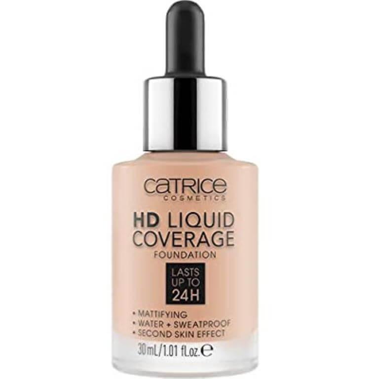 Catrice - HD Liquid Coverage Foundation 020